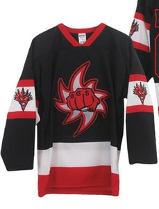 20172020Insane Clown Posse Fite Back 665 Black White Red Hockey Jersey Customize any number and name Jerseys