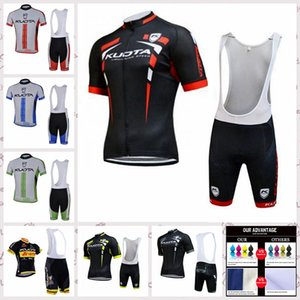 KUOTA Mannschaft MEN Radtrikot Bib Shorts Sets Rennrad Kleidung atmungsaktiv schnell trocknend Sportwear Verkauf A61117