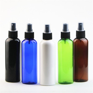 200ml Round Shoulder PET Spray Plastic Bottle Perfume Spray Bottle Fine Mist Make-up Bottles Are Bottled Separately EEA1208 sea shipping
