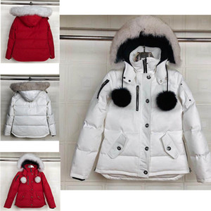 New coat factory women black ballistic bomber Jacket slim on waist short coats with hooded white fox fur collar scissors on the arm factory
