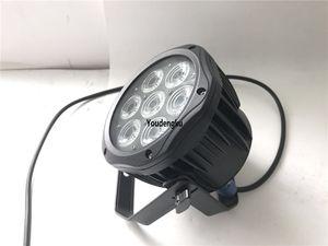 12 pièces 7X18W LED mini par peut Light Light led par 64 rgbwa uv 6in1 dmx éclairage de scène