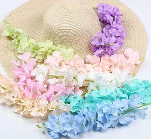 30cm al por mayor de la boda del partido de ratán Inicio de flor artificial de Gaza Wisteria Vine para los cabritos sitio de la decoración DIY Craft falso Flores