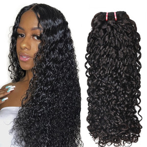 Lovely Super Double Drawn Pixie Curl Virgin Funmi Hair Cuticle Aligned Virgin Human Hair Weave for woman