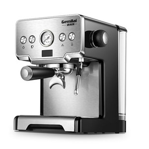 Machine à espresso italienne semi-automatique à pression de 15 bars Machine à café à réservoir commercial CRM-3605 220V 1.7L