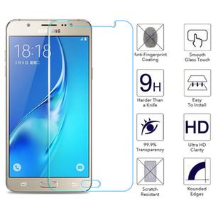 Verre de protection pour Samsung Galaxy J5 J7 A3 J3 A5 A7 2015 2016 2017 A6 A8 plus 2018 Screen Protector Film en verre trempé