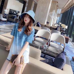 mujer más alta calidad camisetas camisa de la mujer camiseta de la impresión de las mujeres encabeza 2020109-454 * 345383CLD