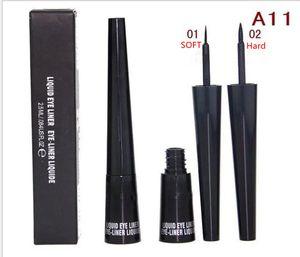 Dropshipping M# Black Liquid Eyeliner Pen MC Cosmestic Waterproof Eyeliner Long Lasting Cosmetic Eyes Makeup Liquid Eyeliner Pencil