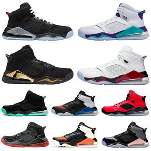 Nike Air Jordan Mars 270 homens tênis de basquete criados quebrado encosto DMP Fire Red top 3 infravermelhos homens formadores tênis esportivos