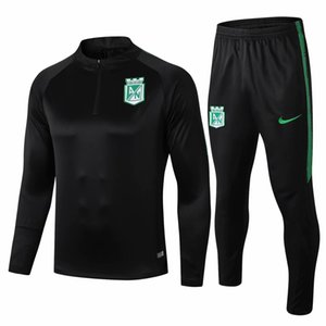 2020 2021 Atletico Nacional Medellin mens Jacket Moreno long sleeve tracksuits soccer jersey Colombia football coat training shirt suit