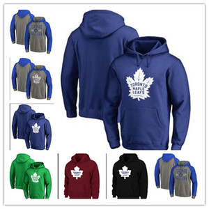 2019 Hoodies Toronto Maple Folha 91 John Tavares A Patch 34 Auston Matthews 16 Mitchell Marner 29 William Nylander 44 Morgan Rielly Jersey