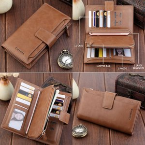 NoEnName-Null New Fashion Lady Women Leather Clutch Wallet Long Card Holder Case Purse Handbag