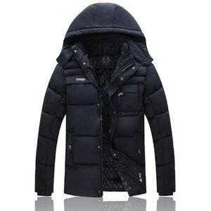 Giacca da uomo in cotone imbottito vestiti New Style Autunno Inverno cotone imbottito staccabile Cap Casual Fashion Thick Uomo
