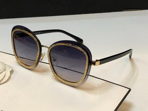 4264 Sunglasses For Women Designer Fashion UV Protection Coating Mirror Lens Full Frame Plated Frame Top Quality Come With Case