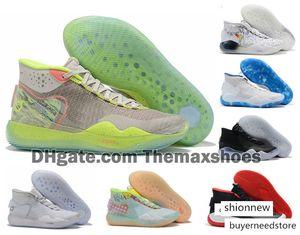 2020 Boys Kids Kevin Durant KD 12 12S KD12 XII Zoom Men Youth Girls Women Basketball Shoes Elite Mid Sport Sneakers 36-40