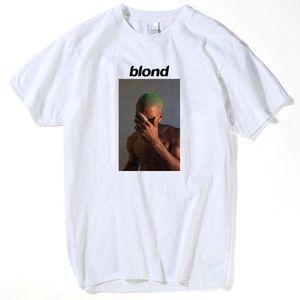 الأزياء فرانك المحيط شقراء T قميص تي شيرت للرجال مطبوعة فريق 2pac توباك قصير كم مضحك المحملة قمصان الأعلى المحملة قمم الصيف للرجال