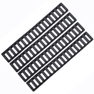 4pcs 17-Slot Ladder Rail Panel Handguard Protector Resistant Cover Airsoft Gun Scope Mounts Accessories Fit 20mm guide Rail Picatinny