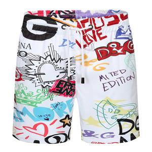 Grabado en caliente boardshorts para hombre verano dg playa pantalones cortos de alta calidad traje de baño de las Bermudas masculino Carta vida de la resaca de los hombres de la nadada del tigre Pantalones cortos G2122