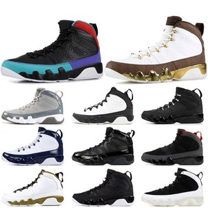 Nike Air Jordan Retro 9 9s 2019 New Jumpman 9s Mens Basketball-Schuhe Dream It, Do It Mop Melo Stadt des Fluges Bred Space Jam UNC Charcoal Mens Sneakers