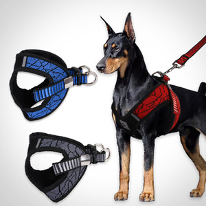 Pet dog chest back traction rope Creative harnesses new small and medium dog anti-collision collar chest strap