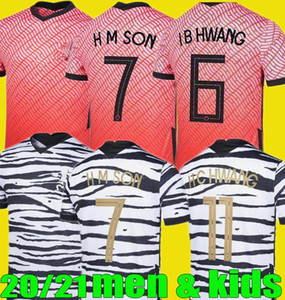 men kids Korea SON South 20 21 Korea home away HYUNG KIM LEE KIM HO SON soccer Jerseys 2020 2021 Football kit Shirts
