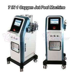 8 Bar Oxygen Jet Peel Agua Dermabrasion Tecnología de Israel 7 en 1 Hydra Facial Microcorriente Hydradermabrasion Inyector de oxígeno Máquina de spa