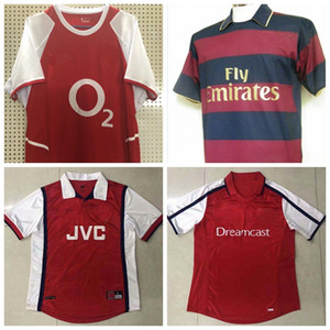 1997 1998 1999 2000 2002 2003 2005 2006 2007 2008 camisa camiseta de fútbol HENRY retro Pires Vieira FABREGAS Ljungberg v.PERSIE Bergkamp fútbol