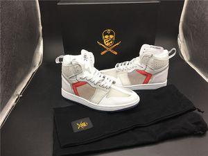 Elemento 87 x 1 Los zapatos de baloncesto de los hombres del cirujano de zapatos P.J.Tucke zapatillas deportivas únicas reaccionar entrenadores blancos