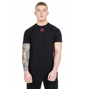 Summer 2019 New Muscle gym Boys Fitness Brothers Sports, Leisure, Tight-fitting Running T-Hammer Men's Pure Cotton Short Sleeves gym T-shirt