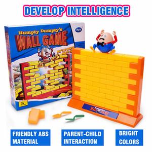 Humpty Dumpty jogo de parede queda Partido da família de Jenga Board Game Crianças Kids Brinquedos de Puzzle