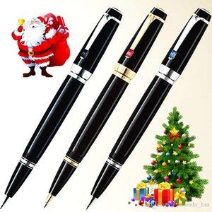 bolígrafos marca clásica de Bohemia MB de regalo de resina negro rodillo de bola de diamante lápiz escuela papelería suministros de oficina de lujo recarga con decodificador Opition