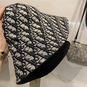 Kadınların kap kova şapka moda rahat şapka unisex siyah mavi ilkbahar yaz katlanabilir şemsiye kapaklar avangard Anti-UV Brw pop çift taraflı