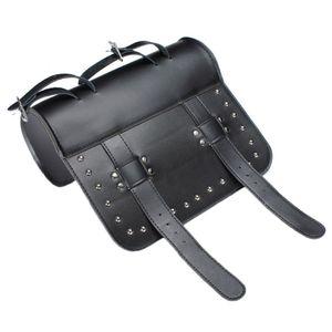 Black Prince \ 's Car Motorcycle Saddle Bags Cruiser Tool Bag Equipaje Asa Bar Bag Pacote Motos Frontal Multifuncional No hay envío gratis