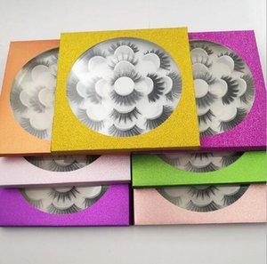 7 Pairs 3D Faux Mink Eyelashes Handmade Natural LongThick False Eye Lashes Women Makeup False Lashes Extensions Maquiagem Tools
