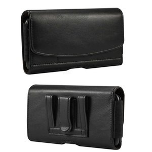 Universal Phone Cover Belt Clip Holster Leather flip Pouch Case for iphone Samsung Huawei Xiaomi 4.0-6.9 Inch Mobile Phone Bag