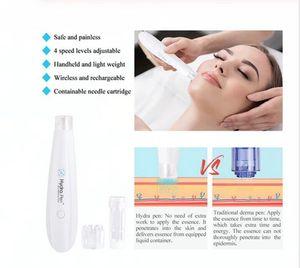 wholesale Hydrapen H2 Derma Roller Skin care Automatic Serum Applicator Hydra Pen Microneedling Derma Pen with 2pcs needle cartridge