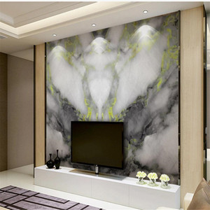 Modern wallpaper for walls 3d for living room gray marble wallpapers background wall