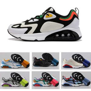 2020 Sole Sneaker nuovo 200 Air Trainer Scarpe da corsa sport d'aria per gli uomini Euro formato 40-46