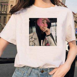 Rapper Lil Peep T Shirt Rap Hip Hop Lilpeep Girl Tshirt Women Harajuku 90S Korean Vintage Tumblr T Shirt Graphic Tee Tops