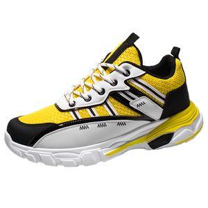 Scarpe da corsa confortevole SAGACE scarpe da tennis dei nuovi uomini di estate respirabili della piattaforma degli studenti Scarpe turistici per il tempo libero Sport 2020 X1226