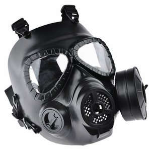 Hot Sale Hunting tactics cs gas masks air guns protective masks Pipe Pipe Sillicone Mask Free Shipping
