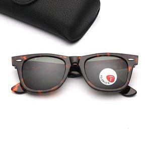 Sürüş Polarize Güneş Gözlüğü Moda Marka Güneş Mens 2140 Kadın Güneş Gözlükleri Tasarımcı Siyah Çerçeve G15 Cam Lens Des Lunettes De Soleil