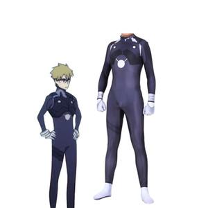 Anime DARLING de alta calidad en el traje de Cosplay Frankxx HIRO Spandex Zentai Adulto Hombres Niños Spandex Traje Traje Monos