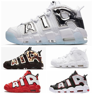nike air max off white Designer Plus Uptempo QS Mens Basketball Chaussures 3M Chicago Scottie Pippen Baskets sport Chaussures de sport paniers des chaussures zapatillas off