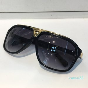 2020 classic evidence millionaire sunglasses retro vintage men Z0350W laser shiny gold frame unisex style top quality come with box