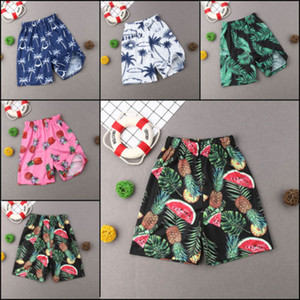 Father Men Boy Kid Swim Knee Shorts Trunks Swimwear Surf Swimming Pant summer Beachwear