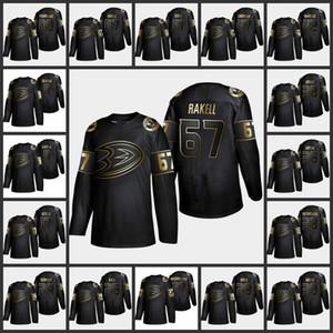 2019 Golden Edition Anaheim türlü isim hokey formaları 25 Ondrej Kase Jersey 8 Teemu Selsnne 17 Ryan Kesler özelleştir herhangi bir sayıda Ördekler