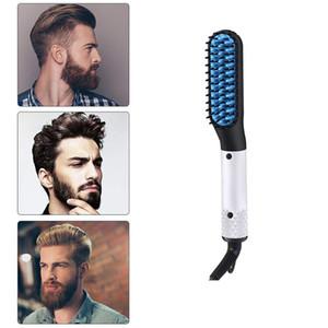 Lisseur rapide Brosse Barbe peigne électrique type professionnel peigne Styling cheveux hommes revêtement céramique peigne de chauffage
