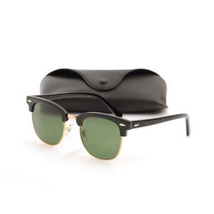High Quanlity mens Occhiali da sole Plank glasses black Occhiali da sole Brand Designer occhiali da sole Metal hinge glasses Nuovi occhiali da sole da donna con scatole
