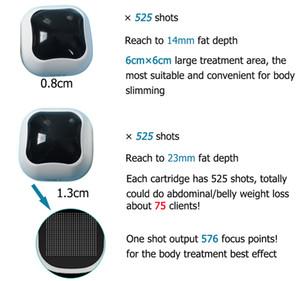 2020 New Liposonix cartridge 0.8cm & 1.3cm machine for body shaping liposonix skin tightening weight loss hifu liposonix machines 525 shots