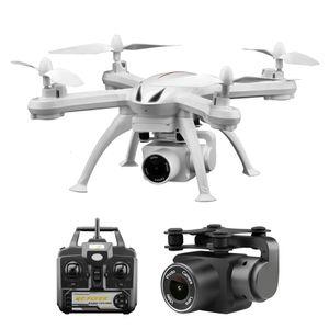 Drone X6 s cámara HD 480p / 720p / 1080p Quadcopter Fpv avión no tripulado con un solo botón Vuelo de regreso Presión Hover Rc helicóptero original T190621